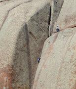 Rock Climbing Photo: Japanese visitors enjoying Vedauwoo, Sept. 2014.