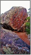 Rock Climbing Photo: Ataraxy problem beta.