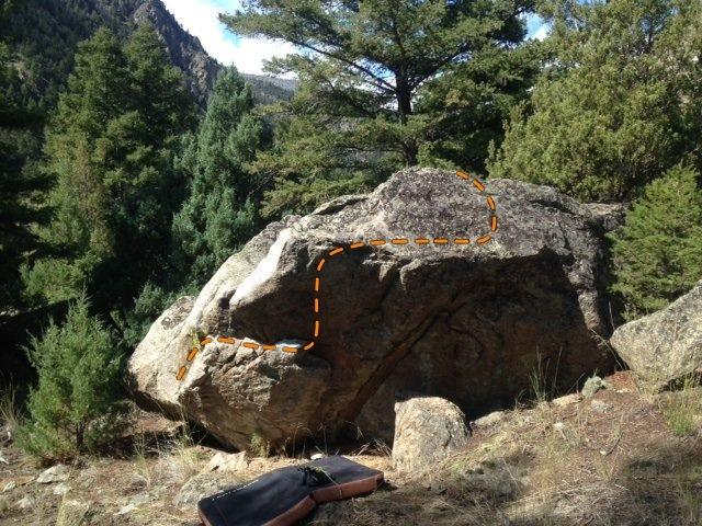 Rock Climbing Photo: Size Doesn't Matter