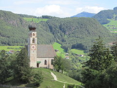 Rock Climbing Photo: Very picturesque church near Schlern.