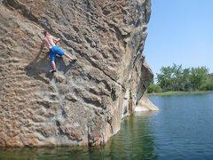 Rock Climbing Photo: Banks Lake, WA
