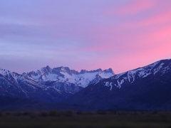 Rock Climbing Photo: Sunset over Sawtooth