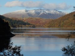 Rock Climbing Photo: Blencathra Mt from Thirmere Lake