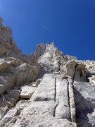 Rock Climbing Photo: approach choss