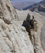 Rock Climbing Photo: looking back at the Tower Traverse | The holds wer...