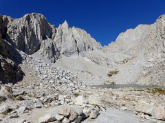 Rock Climbing Photo: Upper Boy Scout Lake