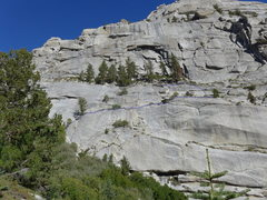 Rock Climbing Photo: Ebersbacher Ledges on the approach to Lower Boy Sc...