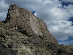 Rock Climbing Photo: Side look at Kokopelli.