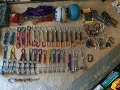 Rock Climbing Photo: Rack Pic: Gear