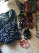 Rock Climbing Photo: Rack Pick: Shoes/Harness/Rope