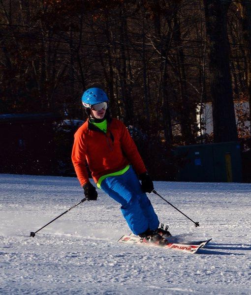 Rock Climbing Photo: Me skiing