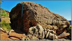 Rock Climbing Photo: The Habit problem beta.