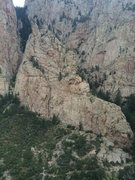 Rock Climbing Photo: Frog from Northwest Ridge, The Thumb. In this phot...