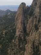 Rock Climbing Photo: The Pulpit from NW Ridge, The Thumb