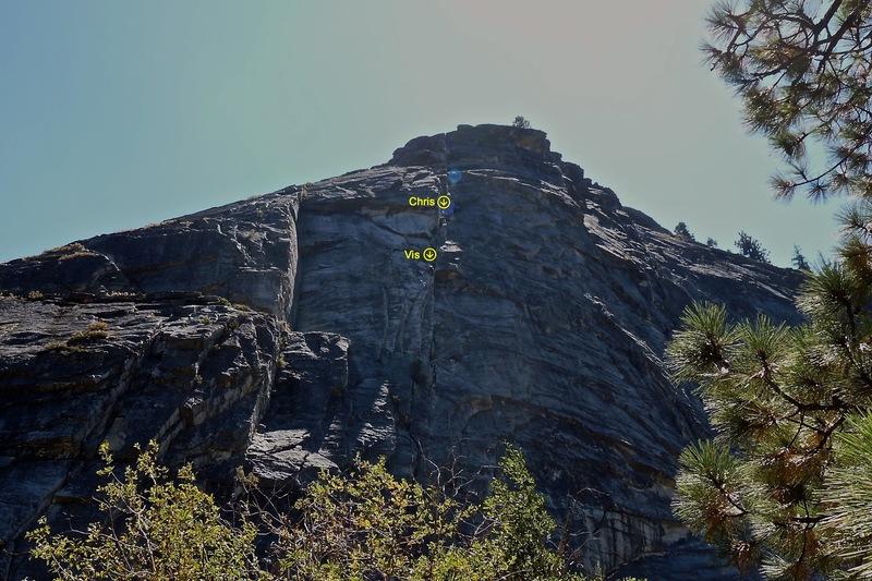 Rock Climbing Photo: Haystack 2