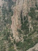 Rock Climbing Photo: Lost Spectacle from Northwest Ridge, The Thumb. Lo...