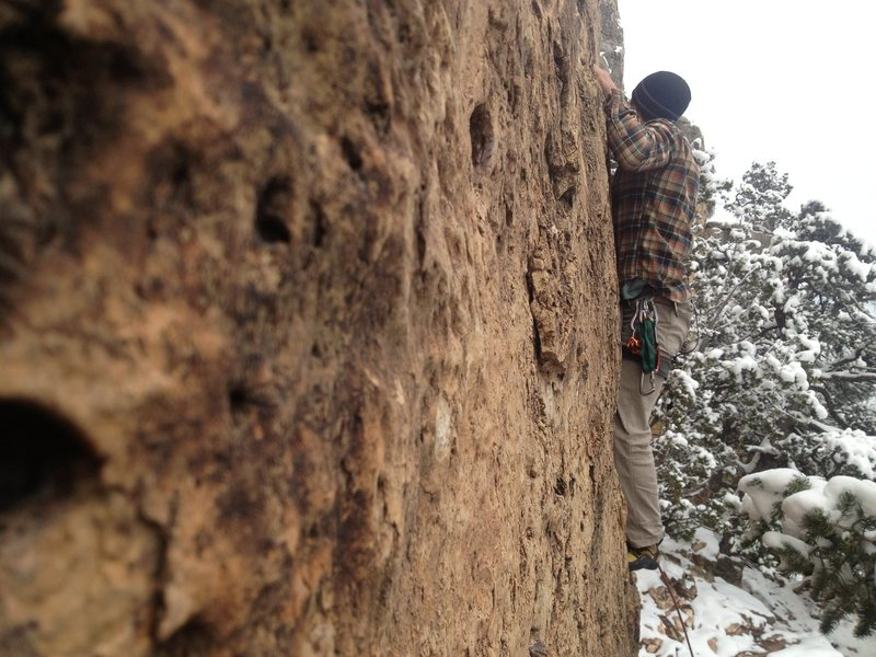 Rock Climbing Photo: Shelf is great almost all winter, and even if it s...