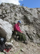 Rock Climbing Photo: Getting ready to climb...