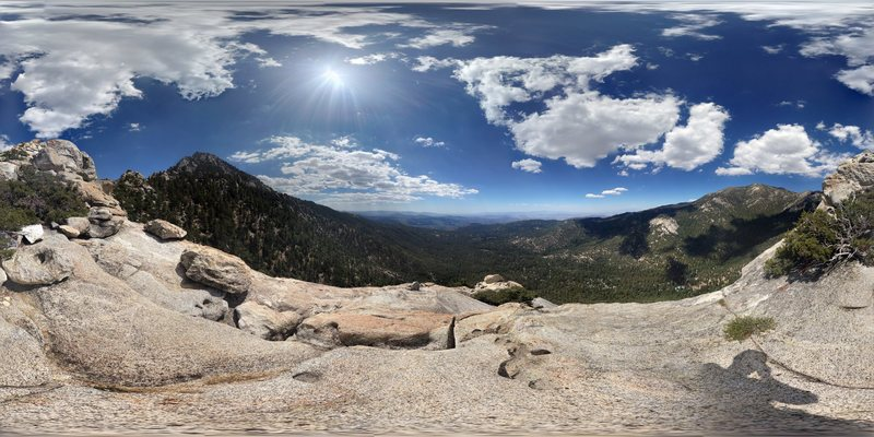 photosphere of the top of Tahquitz
