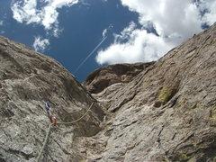 Rock Climbing Photo: The climbing on Lefty.