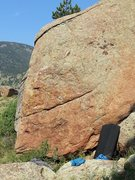 Rock Climbing Photo: Bread of Life starts with your left foot in the sc...