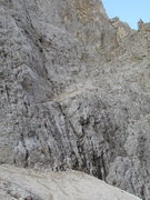 """Rock Climbing Photo: Start to the route on the """"Thumb"""" lies o..."""