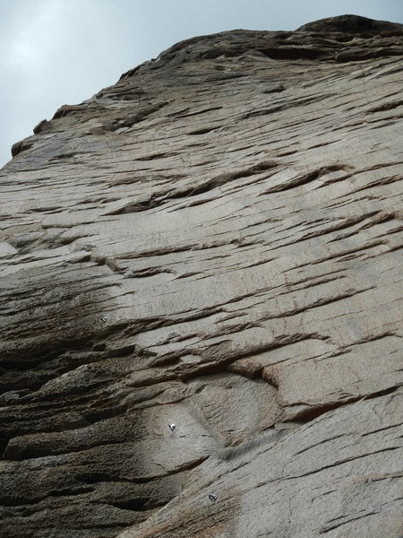 Rock Climbing Photo: This wall will go!  There is an anchor at the top ...