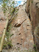 Rock Climbing Photo: This line is so much fun...don't know why so many ...