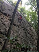 Rock Climbing Photo: Main crack