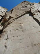 Rock Climbing Photo: Great quality rock with sharp edges to move off of...