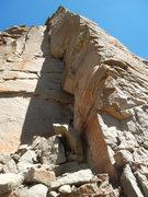 Rock Climbing Photo: This arete will go!  Update, face/arete was sent 9...