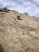 Rock Climbing Photo: Jay.