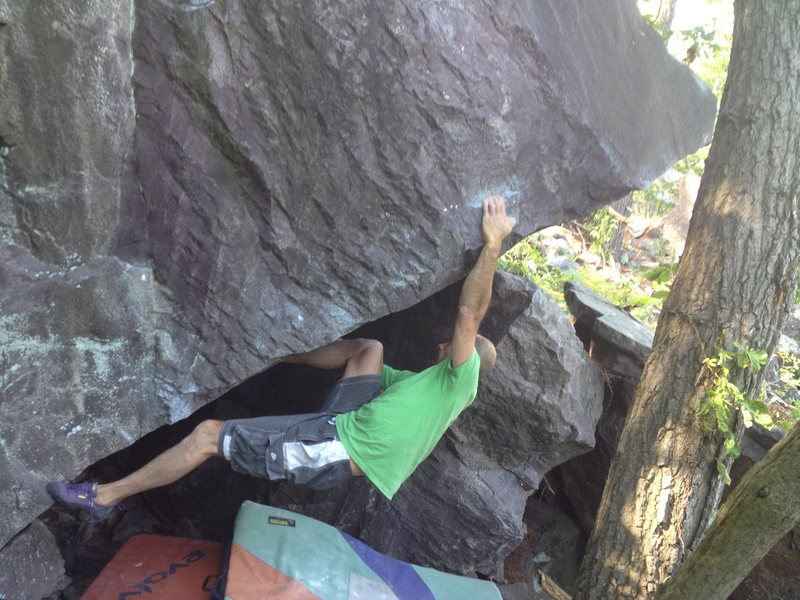 Rock Climbing Photo: Same moves as What up Weasel until you get to the ...