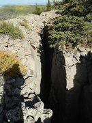 Rock Climbing Photo: This deep subterranean climbing opportunity has ab...