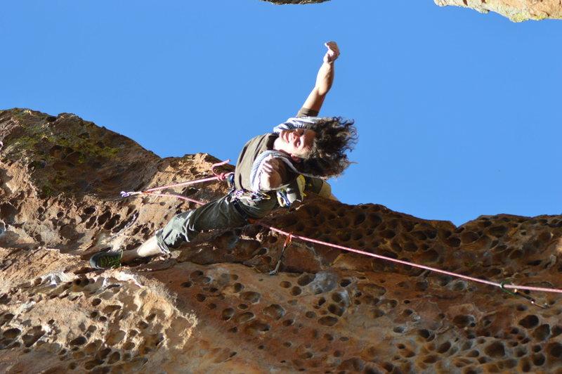 Rock Climbing Photo: hanging out
