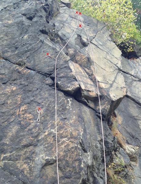 Rock Climbing Photo: Mia