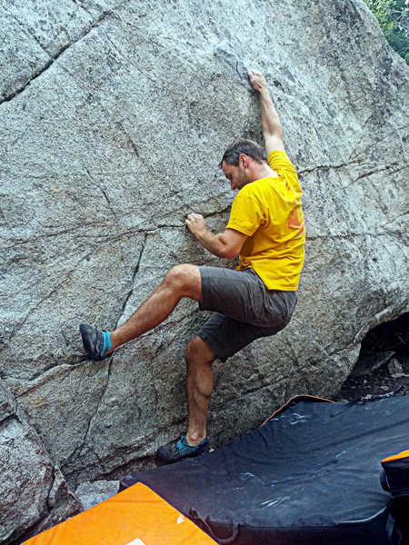 Right of Middle boulder problem