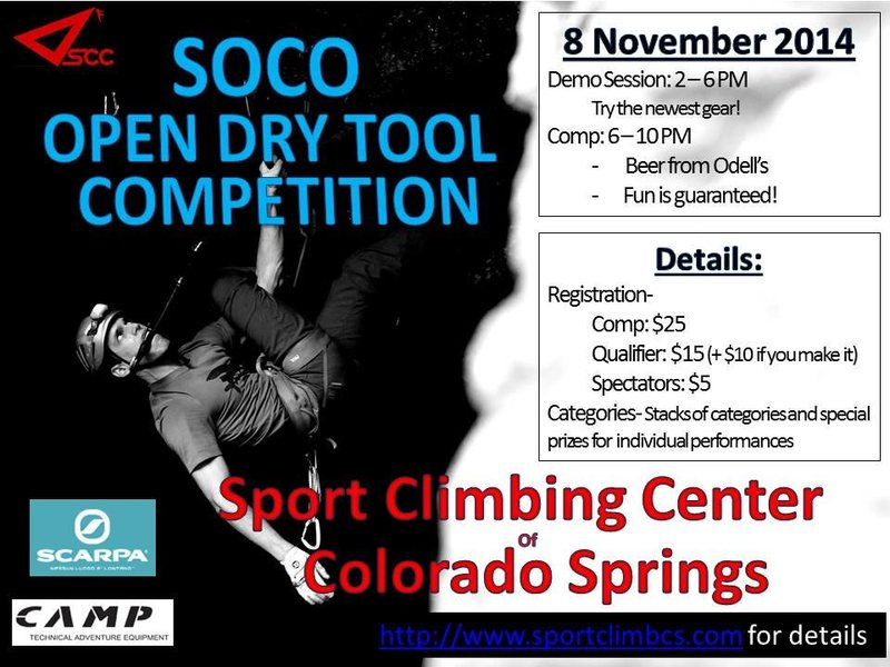 Rock Climbing Photo: SCC Open Comp