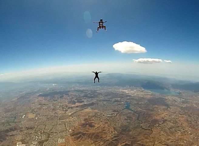 Free flying at Perris Sept 2014