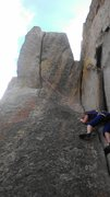 Rock Climbing Photo: View from the belay