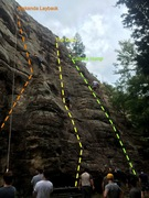 Rock Climbing Photo: Classic Top-Rope Session with the SIUC Climbing Cl...