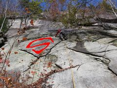 Rock Climbing Photo: Now do you see it?