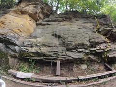 Rock Climbing Photo: Ultimate Bushwhack route
