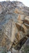 Rock Climbing Photo: Gray Looking bolts. Have yet to climb so let me kn...