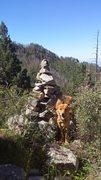 Rock Climbing Photo: Impressive Cairn