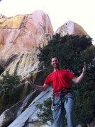 Rock Climbing Photo: Creating the power to send below banshees.