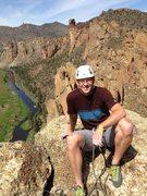 Rock Climbing Photo: Top of Smith Rock