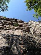 Rock Climbing Photo: Great climb. 14 total Quick Draws