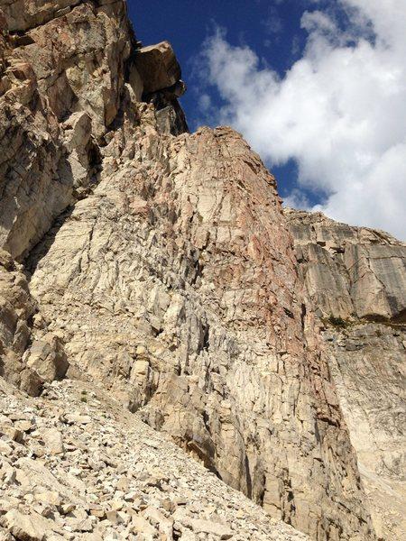 Rock Climbing Photo: Red Buttress