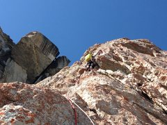 Rock Climbing Photo: Nate Fuller lead-drilling